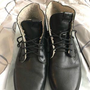 Aldo Black Sneaker Boots - Men's Size 9
